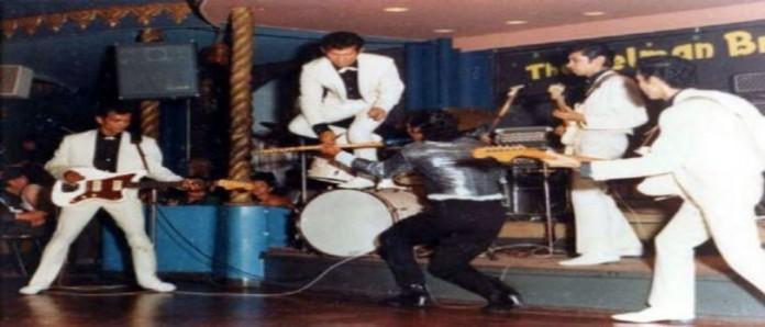 The Tielman Brothers showtime at palais de danse scheveningen summer 1965
