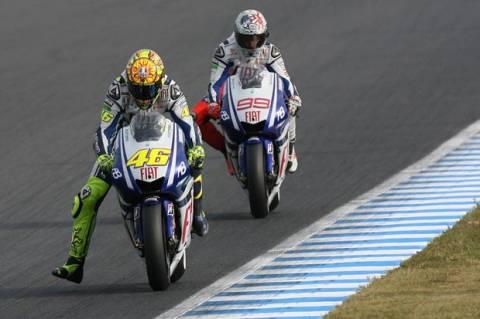 The Rossi Leg Wave Adalah Gaya Balap Valentino Rossi yang Persis Gaya Berlarinya Cheetah