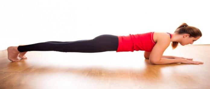 Front Plank - Posisi Plank untuk Mengencangkan Otot Perut dan Membakar lemak
